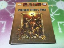 Renegade Cleric's Tome ~ Expert Player's Guide ~ Mongoose Publishing ~ D&D 3/3.5