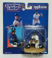 KEN GRIFFEY JR - Seattle Mariners Starting Lineup SLU MLB 1998 Figure & Card NEW