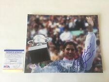 Monica Seles Signed Autographed 8x10 Photo PSA DNA COA b