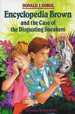 Encyclopedia Brown and the Case of the Disgusting Sneakers-ExLibrary