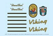 Viking Grand Tour Bicycle Decals-Transfers-Stickers #7