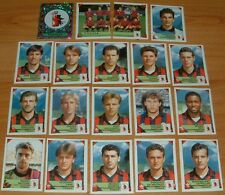 PANINI FOOTBALL CALCIATORI  1993-1994 FOGGIA COMPLET CALCIO ITALIA