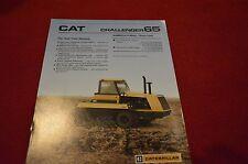 Caterpillar 65 Challenger Tractor Dealer's Brochure AEHQ2696 4-87 LCOH