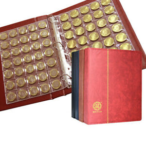 370 Pockets Coins Penny Collection Album Folder Storage Book Holder Organizer