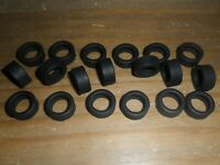 Scalextric 20 new grippy slick car tyres BMW Mini Subaru Lancer Focus etc Spares