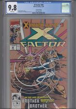 X-Factor #60 CGC 9.8 Marvel Extinction Event 2nd print Gold Cover: New Frame