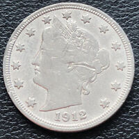 1912 D Liberty Head Nickel 5c Better Grade #29203