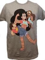 New Steven Universe Mens S-M-L-XL-2XL Gray Licensed Shirt