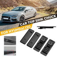 Car Top Sink Chuck Clip Cap Water Bar Roof Trim Moulding Cover For HYUNDAI i30