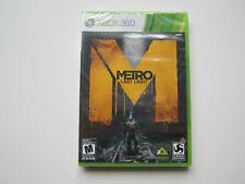 Metro: Last Light Microsoft Xbox 360 *BRAND NEW* SEALED NIB
