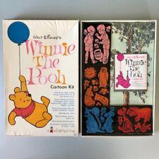 Vintage WINNIE THE POOH COLORFORMS Cartoon Kit 1964
