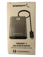 Sabrent Thunderbolt 3 Dual DP Display Adapter