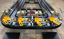 Universal HeavyDuty Auto Body Frame Machine Anchoring Clamps GERMAN NO PINCHWELD