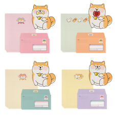 4sets Shiba Inu Dog Letter Set -20sh Lined Writing Stationery Paper 8sh Envelope