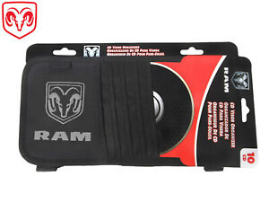 Dodge Ram Licensed CD DVD Visor Black & Red Ram 1500 2500 3500 Cummins Diesel