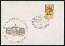 Mayfairstamps Germany 1978 Kiel Alte Kieler University Cover wwr_10797