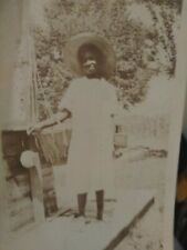 Sharecropper little African American girl from Mississippi