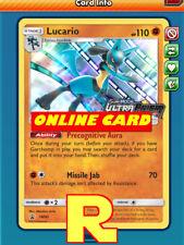 Lucario Promo SM95 - for Pokemon TCG Online (DIGITAL ptcgo in Game Card)