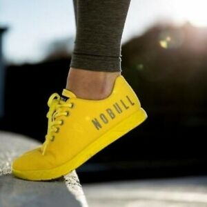 NOBULL Rubber Ducky Lemondrop Trainers Sneakers Size 7.5 Men 9 Womens