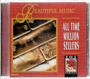 Madacy Ent , 101 Cordes, Beau Musique, All Time Million Sellers Utilisé CD