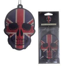 Union Skull Car Air Freshener gift for home van Vanilla scented novelty freshner