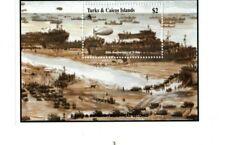 Turks and Caicos - 1994 - D Day - Souvenir Sheet - MNH