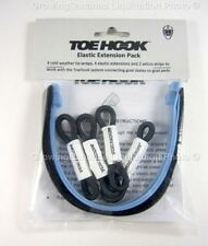 Hockey Goalie Pads Toe Hook Elastic Extension Pack! Goal Pad Hook Tie System