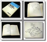 Komatsu PW130-6K Wheeled Excavator Parts Book Ersatzteilliste 1994