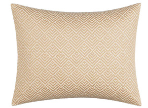 "*Tommy Bahama Sunrise Stripe Breakfast Throw Pillow 16"" x 20"" Sand Brown NWT"