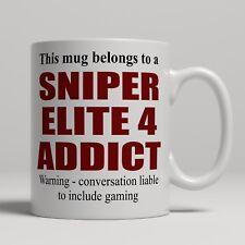 TAZZA da caffè per Sniper Elite 4 giocatori gioco regalo di compleanno natale