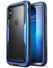 For iPhone X / XS Case, i-Blason Magma FullBody Bumper Cover w/ Screen Protector