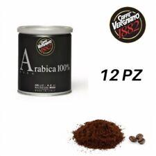 12 Lattine Caffè VERGNANO 100% Arabica Macinatura Moka Da 250 GR (3 Kg)