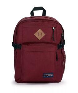 "JanSport Main Campus Backpack Russet Red 1953 Cubic"" 15""laptop Sleeve/H20 Pocket"