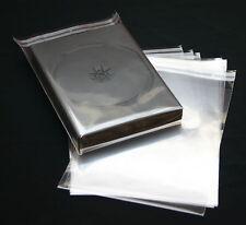 200 St. DVD Schutzhüllen mit Verschluss für Hüllen bis 27 mm dicke