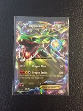 POKEMON RAYQUAZA  EX (XY73) ultra rare HOLO + BONUS ON LINE CARD