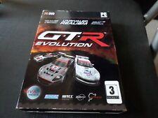 GTR Evolution PC DVD-ROM Spiel 2008 Viva Media unübertroffenen Realismus Autorennen