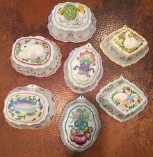 Vintage7 Franklin Mint Le Cordon Bleu Decorative Jello Molds