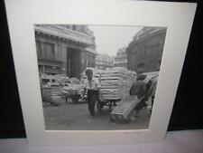 Dallas Texas Photographer Ferne Koch 1955 Paris Les Halles Photo Signed Print