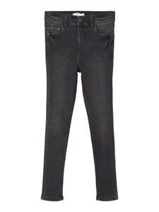 NAME IT Skinny Jeans Hose NKFPolly DNMTindy schwarz Größe 128 bis 164