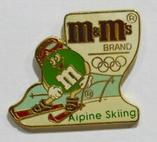 PINS M & M'S CONFISERIE JEUX OLYMPIQUES SKI ALPIN ALPINE SKIING