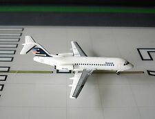 Ansett Fokker F-28-1000 VH-FKA 1/400 scale diecast Aeroclassics