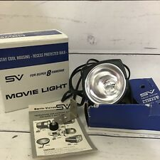 Vintage Smith Victor Movie Light For Super 8 Cameras With Box And Bulb