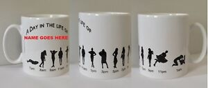 Personalised Fun Mug - A Day In The Life Of