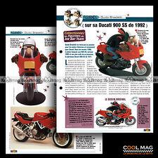 #jbt16.002 ★ DUCATI 900 SS 1992 & GUIDO BRASLETTI ★ Joe Bar Team Fiche Moto