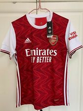 Arsenal home shirt official 2020/2021  For Men - Size S,M,L,XL,XXL RRP £55