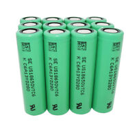18650 VTC6 Battery High Drain 3000mAh 3.7V Rechargeable Li-ion Flat Top