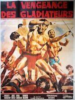 Plakat Kino La Vengeance Des Gladiatoren Schößchen - 120 X 160 CM