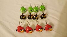 12 Angry Birds Fabric Shower Curtain Hooks Resin