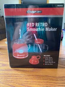 SnapOn Collectible Red Retro Smoothie Maker New Sealed Box!