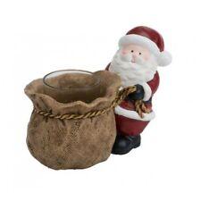 Yankee Candle empujando Santa votiva titular de la muestra - (retirado y difícil de encontrar)